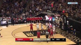Highlights: Fairfield at Purdue Boilermakers | Big Ten Basketball