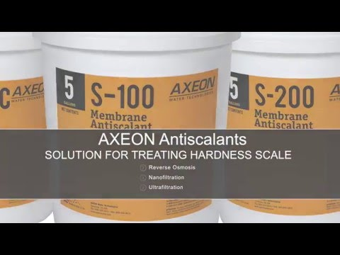 How Do AXEON Antiscalants Work?
