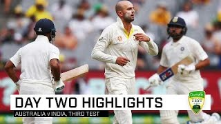 Aussies toil as India pile on pain | Third Domain Test