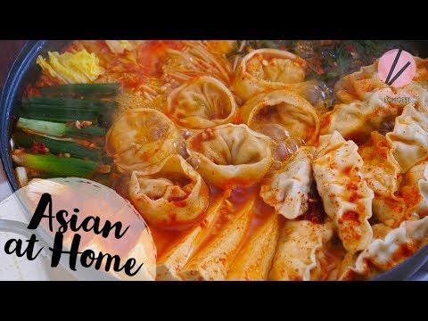 Korean Dumpling Hot Pot, Mandu Jeongol