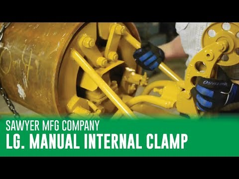 Sawyer Large Manual Internal Line Up Clamp
