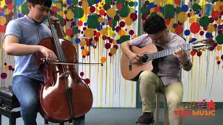 Libertango duo - Cello and Classical Guitar