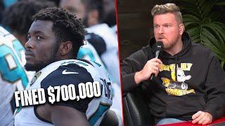 Jaguars Break Rules, Fine Player $700,000?!
