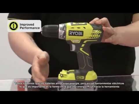 RYOBI - Nuevas baterías LITHIUM+