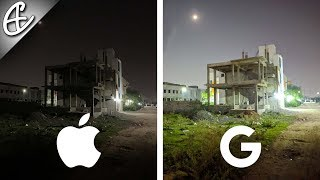 iPhone XS Max Destroyed by Pixel 3XL w/ NightSight - Low Light Comparison!