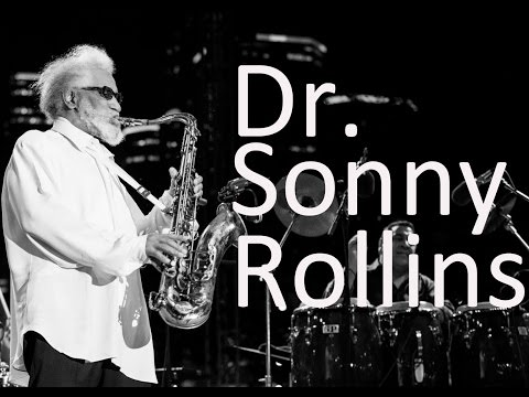 Dr. Sonny Rollins - Honorary Degree from Jackie McLean Institute of Jazz, University of Hartford