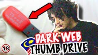 *DARK WEB* APA DALAM THUMB DRIVE? (DARK WEB MYSTERY BOX THUMB DRIVE) **REAL VIDEO** WARNING