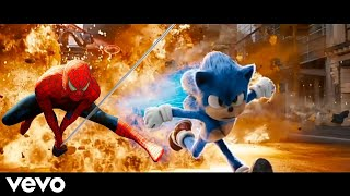 SONIC & Spider-Man Chase - Believer