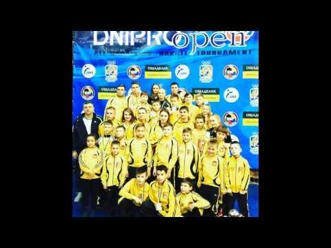 Клуб Тигренок на Dnipro Open 2016