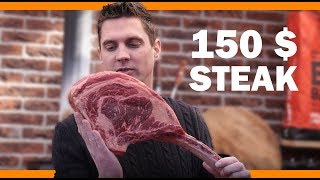 How to grill a $150 Tomahawk Steak