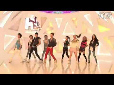 SHINee.FX.H2.CF.1min dance show