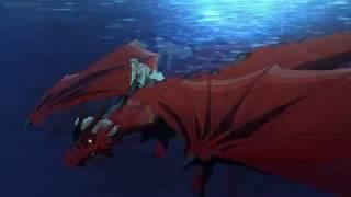 Nina learns to transform into a dragon