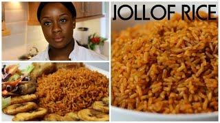 How To Cook Jollof Rice   Ivonne Ajayi