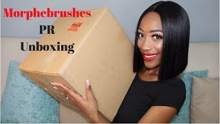 Morphe Brushes PR Package Unboxing | I'M GOING TO CRY!!!