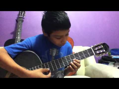 Tutorial de dragon ball gt en guitarra