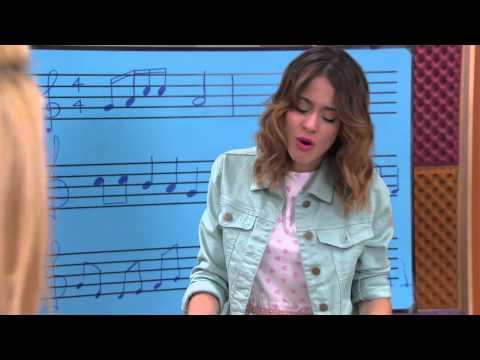 Violetta: León y Vilu cantan en aulas separadas (Ep 66 Temp 2)