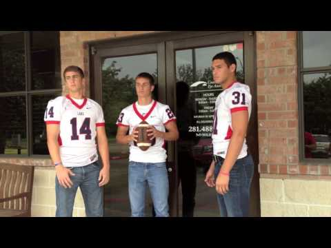 Coastal Eye Associates 2013 Clear Lake Falcons Football Ad Shoot