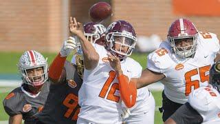 2021 Senior Bowl Highlights | College Football Highlights