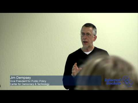 Cybersecurity & the Internet - Jim Dempsey