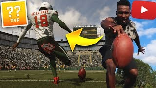 YouTuber who lost his College Football Scholarship is in the NFL | Madden 19 The Rejects ep. 10 (s2)