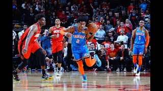 Thunder Go On Unreal Comeback To Steal Game From Rockets   4th Quarter Highlights