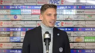 BENEVENTO - UDINESE 2-4 I 25 APRILE 2021 I Intervista post partita LARSEN