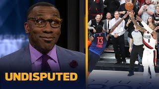 Damian Lillard was 'spectacular' dropping 50 & the series-winner — Shannon Sharpe   NBA   UNDISPUTED