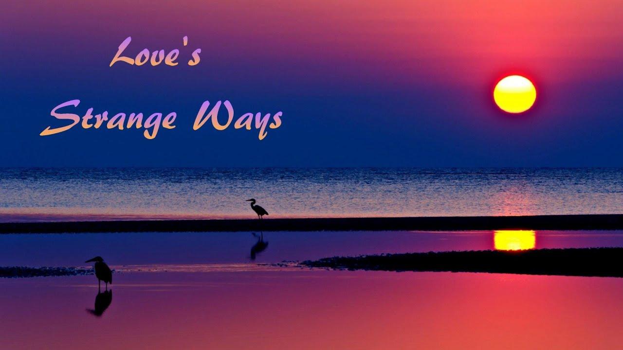Chris Rea Love S Strange Ways Lyrics Youtube