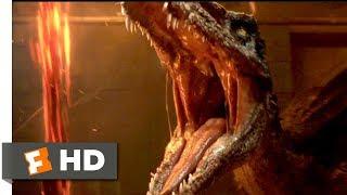 Jurassic World: Fallen Kingdom (2018) - Baryonyx Attack Scene (3/10) | Movieclips