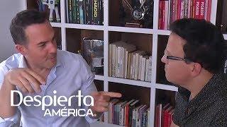 Carlos Calderón abrió las puertas de su casa para compartir sus secretos con Raúl González