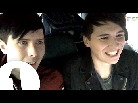 Dan & Phil phoned into Grimmy's show just to speak to The 1975!