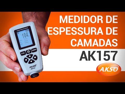 Medidor de Espessura de Camadas AK157