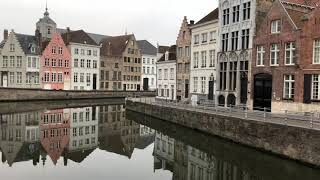 Bruges, Belgium in the early morning