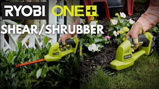 "Video: 18V ONE+™ 6"" Shrubber WITH 1.3 Ah BATTERY & CHARGER"