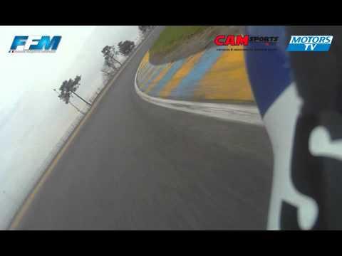 Caméra embarquée – Le Mans – Vincent Philippe