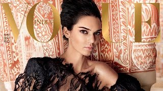 Kendall Jenner STUNS On Cover Of Vogue India