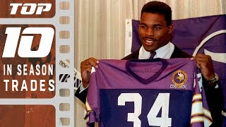 Top 10 In-Season Trades of All Time!   NFL Films