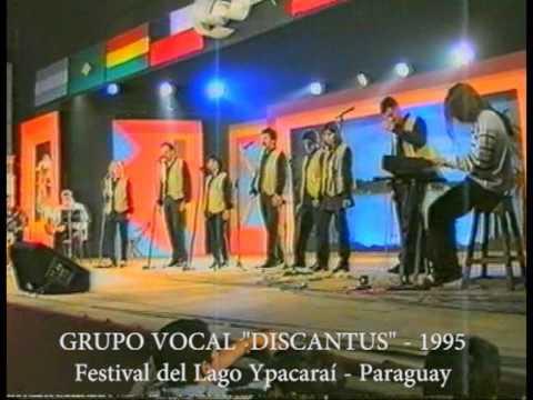 POR QUE CANTAMOS - Grupo Vocal Discantus -en vivo-