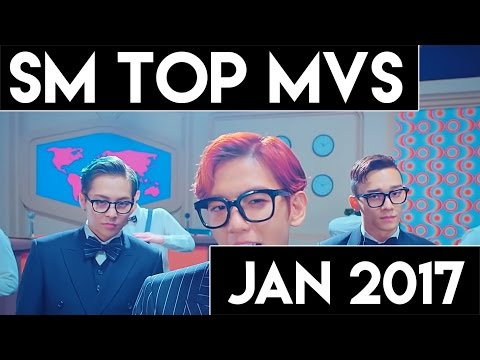 [TOP 60] Most Viewed SM MVs [January 2017]