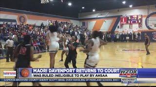 Maori Davenport returns to the hardwood