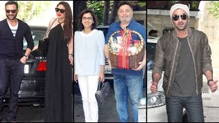 Kareena Kapoor, Ranbir Kapoor, Karisma Kapoor Seen At Shashi Kapoor's Residence! FULL VIDEO