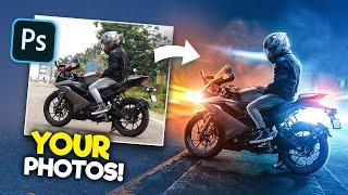 Editing YOUR Photos in Photoshop!   S1E1