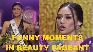 Funny Moments in Beauty Pageant Q&A Part 1