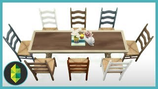 Quirky Dining Room (Sims 4 Build)
