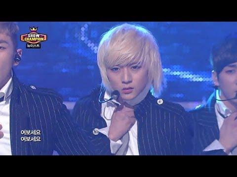 NU'EST - Hello, 뉴이스트 - 여보세요, Show champion 20130306