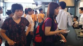 Thủ tục sân bay Nội Bài