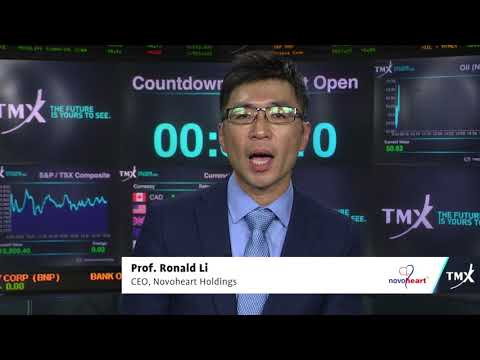 View from the C-Suite: Prof. Ronald Li, CEO of Novoheart Holdings, tells his company's story.