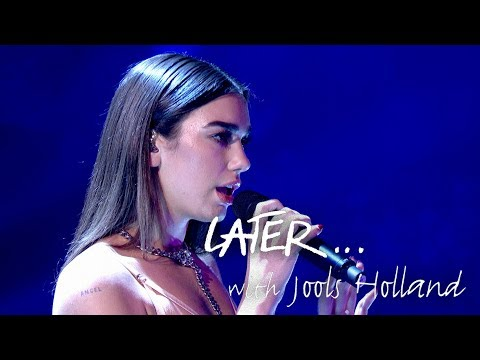 Dua Lipa - New Rules - Later… with Jools Holland - BBC Two