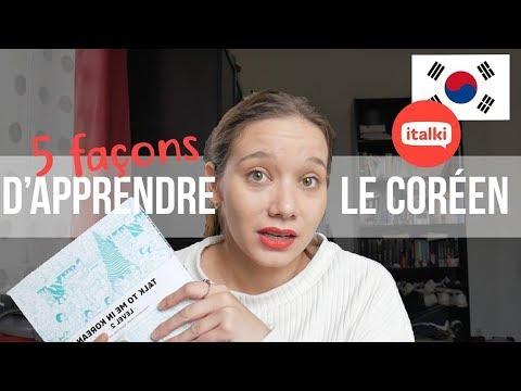 5 FAÇONS D'APPRENDRE LE CORÉEN