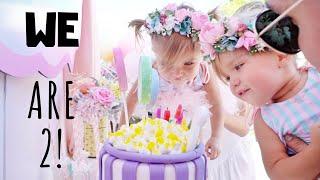 TAYTUM AND OAKLEY TURN TWO HAPPY BIRTHDAY!